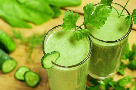 spinazie kiwi smoothie