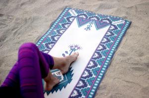 yogamat print