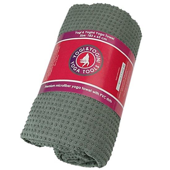 yogahanddoek antislip grijs 31,71
