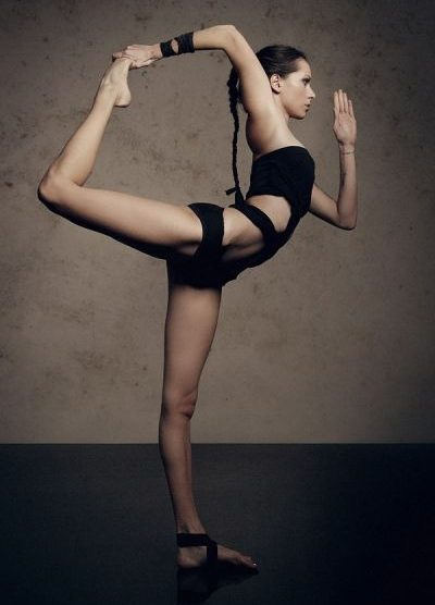 dancer's pose