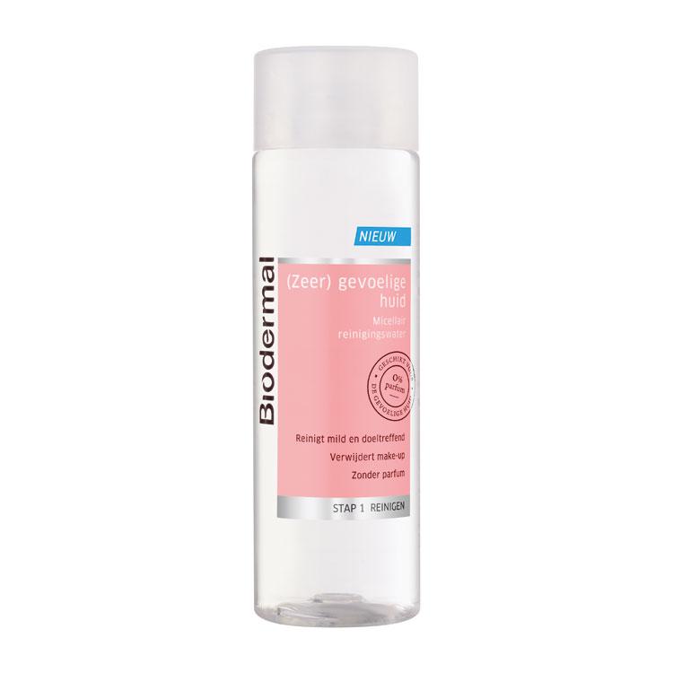 biodermal gevoelige huid micellair reinigingswater
